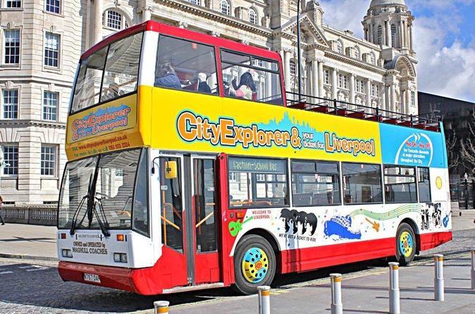 Liverpool Do The Double: combinação de ingressos de cruzeiro pelo rio e ônibus panorâmico aberto Top City