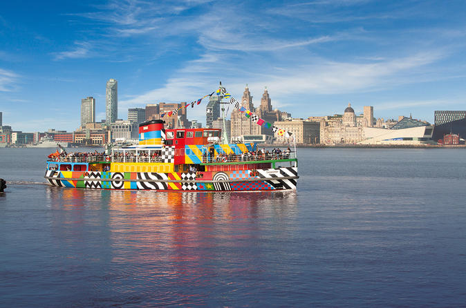 Mersey river explorer cruise from liverpool in liverpool 270939