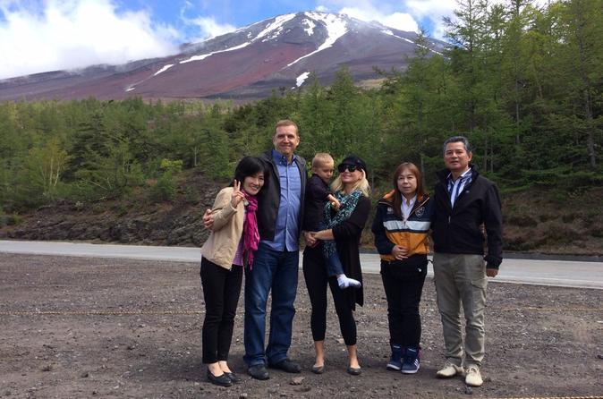 Mt Fuji Vicinity Private Tour - Tokyo
