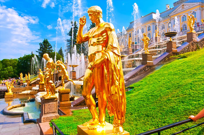 1 day Intensive tour of Saint-Petersburg - for cruise passengers