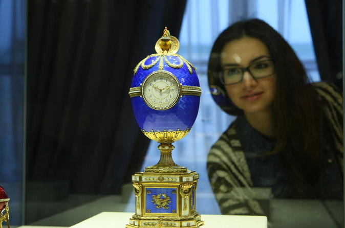 2 day shore tour of Saint-Petersburg with Faberge museum