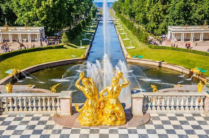 Pearls of Saint-Petersburg 1 day tour by car