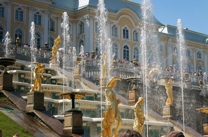 Peterhof and Kronstadt tour