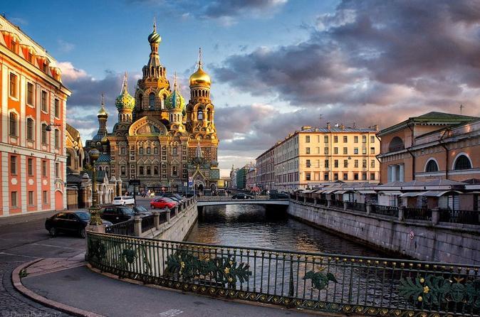 Saint-Petersburg pathfinders 1 day active walking tour