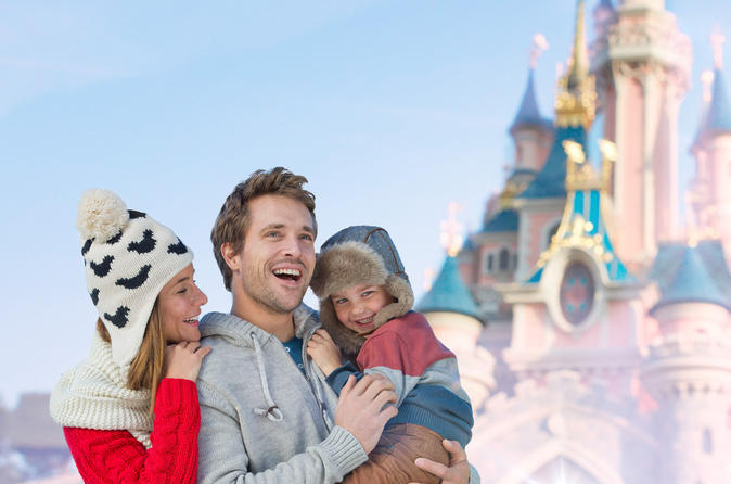 Disneyland Paris Ticket: 1 dag, 2 parken