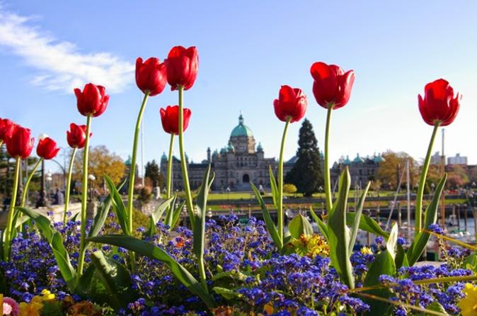 2-Day Victoria and Butchart Gardens Tour with Overnight at the Inn at Laurel Point