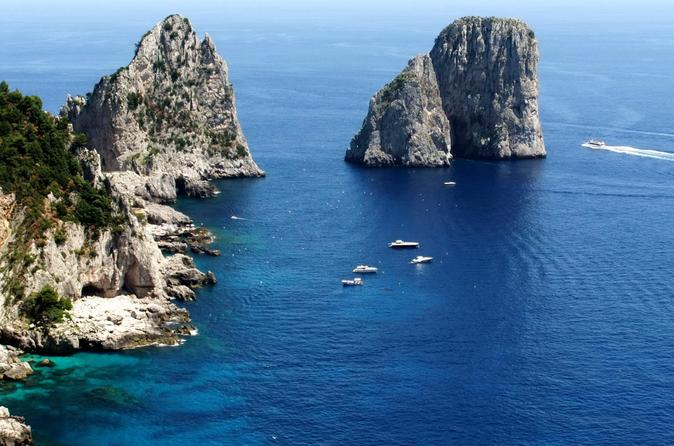 Capri Easy Cruise with Blue Grotto Option