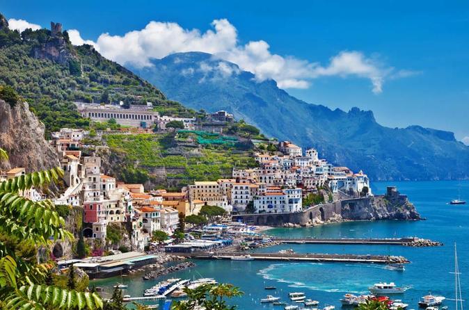 Positano & Amalfi Boat Exprerience Day Tour with Limoncello Tasting