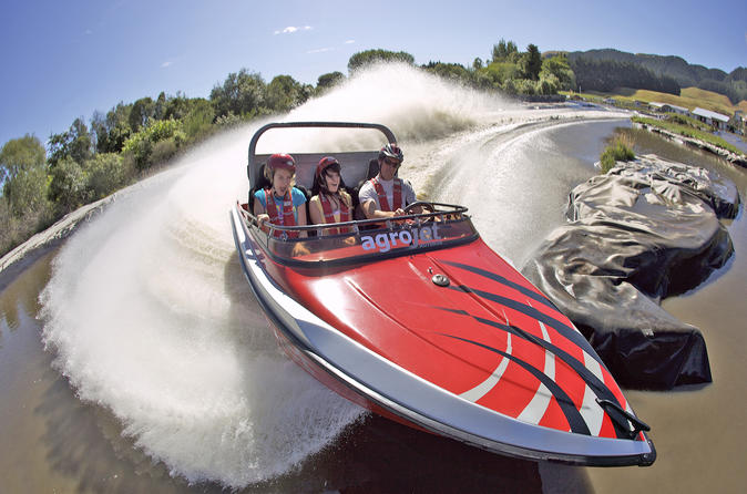 Rotorua Agroventures Adventure Park New Zealand, Pacific Ocean and Australia