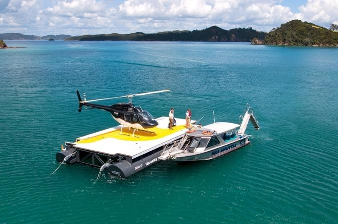 Bay of islands cruise and scenic helicopter tour in paihia 50211