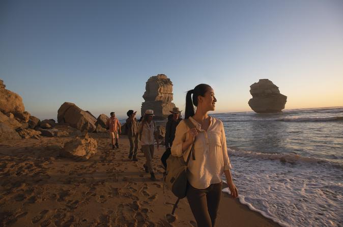 Excursão de dia inteiro na Great Ocean Road e pôr do sol nos 12 Apóstolos saindo de Melbourne