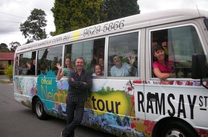 Excursão oficial Neighbours em Ramsay Street