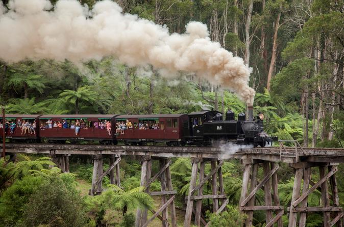 Melbourne Combo: Great Ocean Road plus Healesville Sanctuary and Puffing Billy and Melbourne Attraction Pass