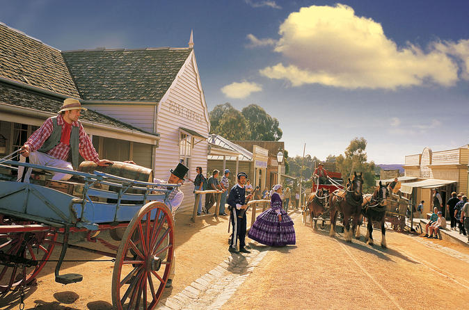 Melbourne Combo: Great Ocean Road, Sovereign Hill and Melbourne Attraction Pass Australia, Pacific Ocean and Australia
