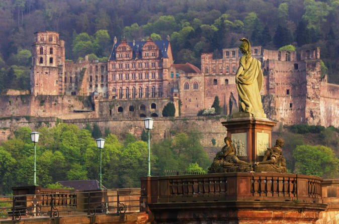 Frankfurt Combo: Heidelberg Half-Day Trip and Frankfurt City Tour