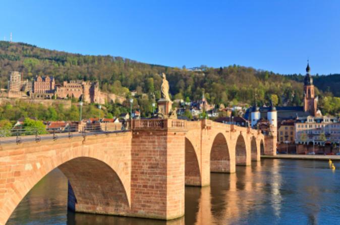 Viagem de um dia ao Vale do Reno e Heidelberg saindo de Frankfurt