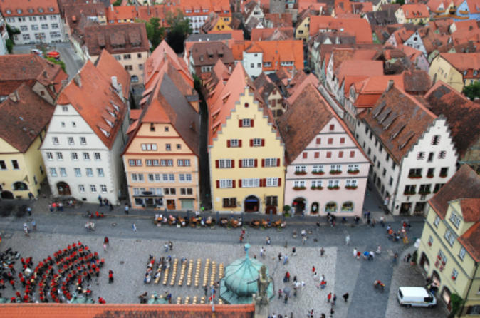Viagem de um dia guiada à Rothenburg saindo de Frankfurt