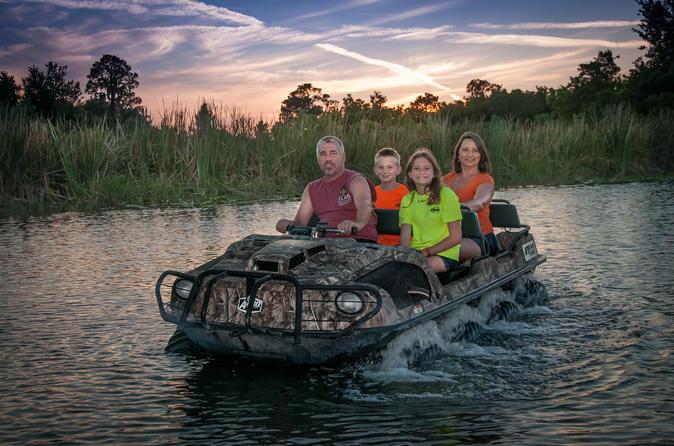 Aventura incrível em UTV por terra e água saindo de Orlando