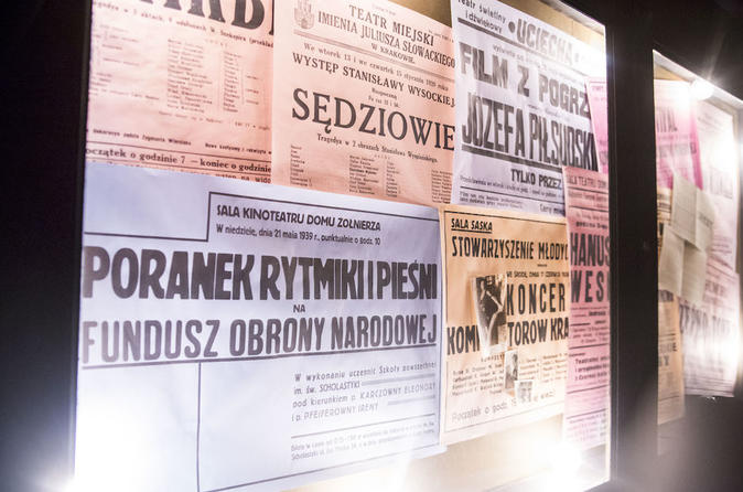 Memory Trail: Schindler's Factory Tickets Package - Krakow