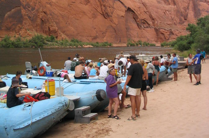 Glen canyon float trip on colorado river from sedona in sedona 125115