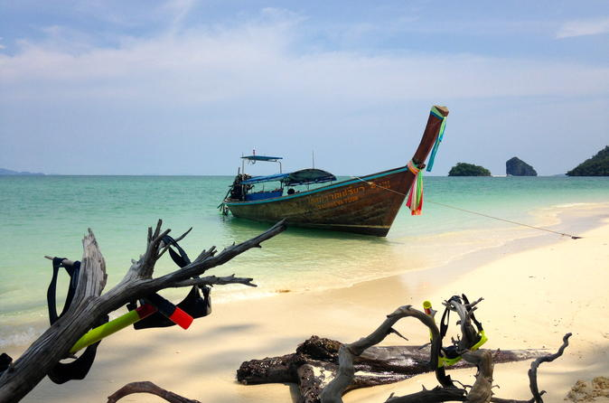 Railay and 4 island sunset cruise with night snorkel in ao nang 469447