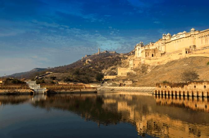 Private Tour: Jaipur Sightseeing Including Jantar Mantar, Amber Fort and Jeep Ride