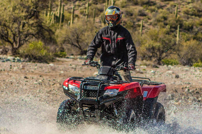 2 hour arizona desert guided tour by atv in black canyon city 296499
