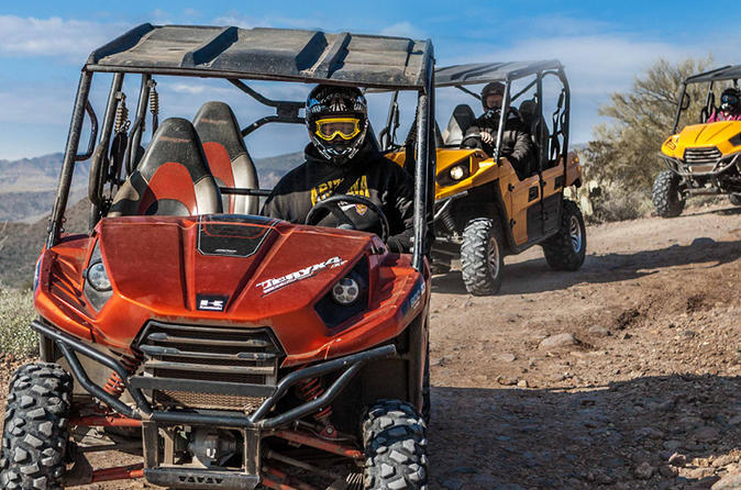 2 hour arizona desert guided tour on teryx utv in black canyon city 296534