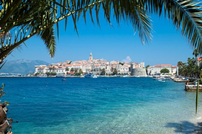 Excursão independente de 6 noites pela Costa da Dalmácia na Croácia: Dubrovnik, Hvar, Korcula e Split