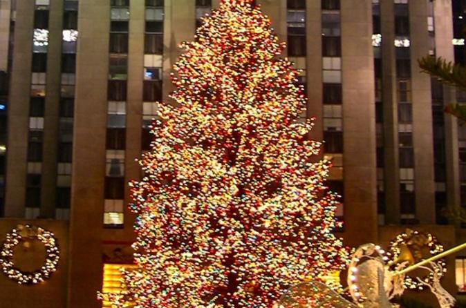 Christmas Ny 2019.Rockefeller Center Christmas Tree Lighting Party 2019 New
