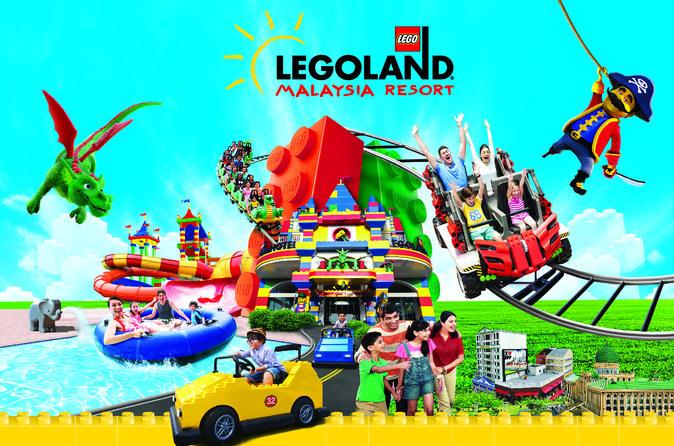 Entrée au parc à thème LEGOLAND® de Malaisie