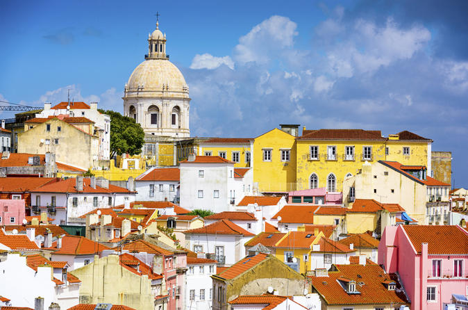 City tour por Lisboa em minivan incluindo degustações de comida e vinho