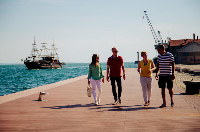 Thessaloniki welcome walk with admission to the archeological museum