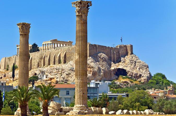 Excursão terrestre em Atenas: excursão particular pela cidade e por Acrópole