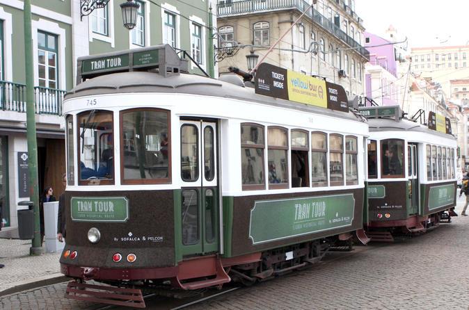 Belem tramcar tour and Olisipo bus tour