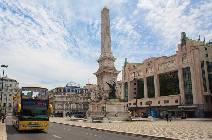 Lisboa, tudo em um ônibus panorâmico e excursão de bonde com cruzeiro fluvial