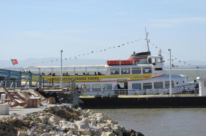 Lisbon Yellow Boat Hop-On Hop-Off Tour