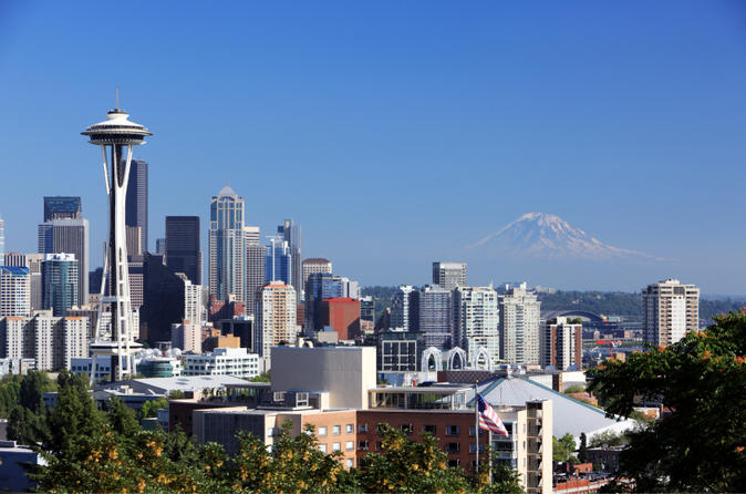 Seattle in one day sightseeing tour including space needle and pike in seattle 104633