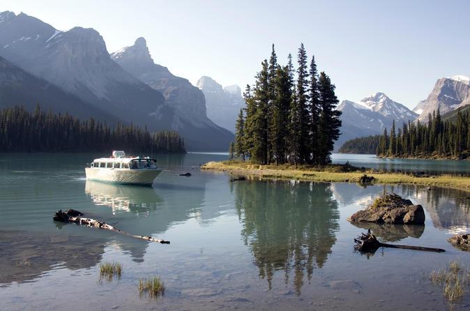 5 5 hour jasper wildlife and waterfalls tour with maligne lake cruise in jasper 240750