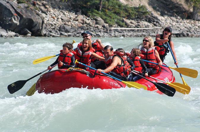 Athabasca expressway whitewater rafting jasper class ii in jasper 431151