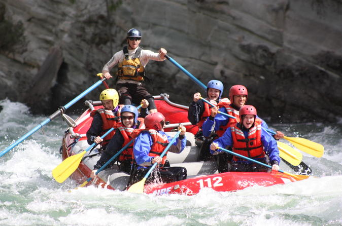 Whitewater Rafting on Jasper's Fraser River