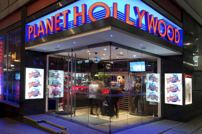 2 Course Meal at Planet Hollywood
