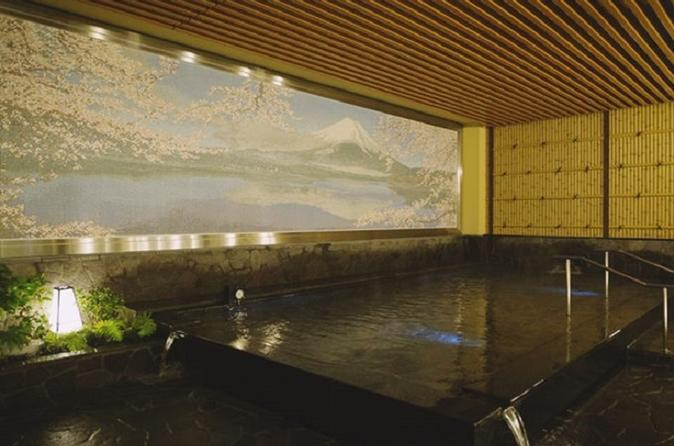 Thermae-Yu Hotspring in Shinjuku
