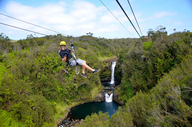 Zip n' Swim- Zipline Through Paradise and Private Waterfall Swim