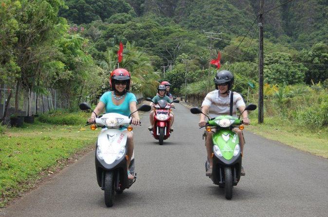 Excursão no litoral de Oahu: Aventura Independente com Scooter