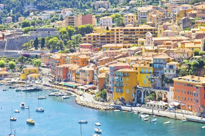 Excursão pelo litoral de Villefranche: excursão de meio dia para grupos pequenos para Mônaco e Eze