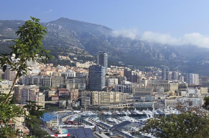 Excursão Terrestre em Cannes: Excursão de Meio Dia para Grupos Pequenos em Mônaco e Eze
