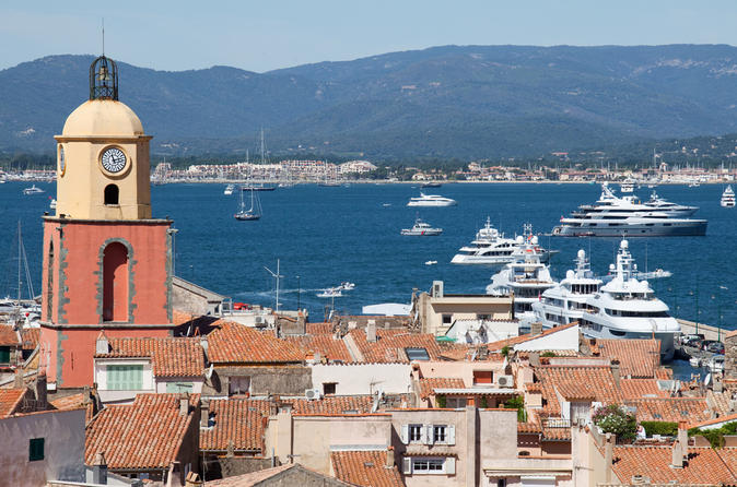Excursion à Monaco : excursion d'une demi-journée en petit groupe à Saint-Tropez