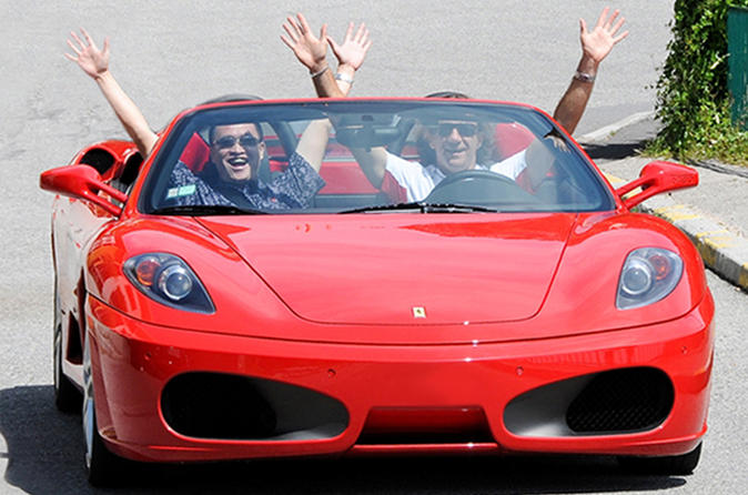 Ferrari sports car experience from nice in nice 443447