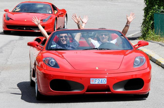 Villefranche Shore Excursion: Ferrari Sports Car Experience to Nice